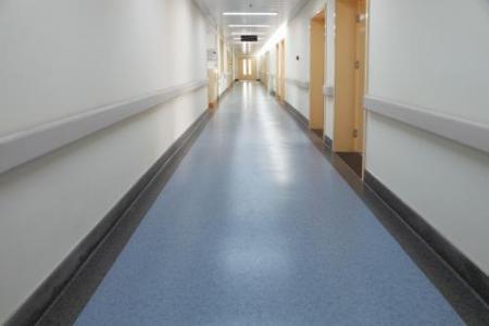 pvc塑胶卷材地板_医院PVC卷材地板-惠州市棱棱祺装饰工程