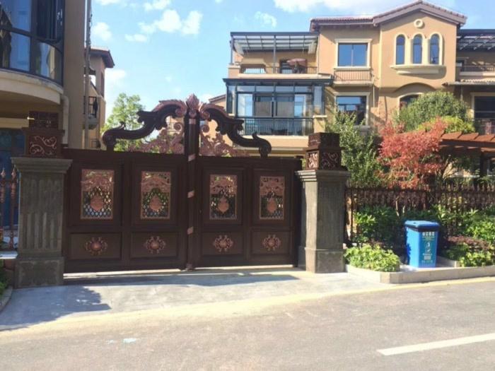 北碚铝艺大门多少钱-重庆地区实惠的铝艺大门