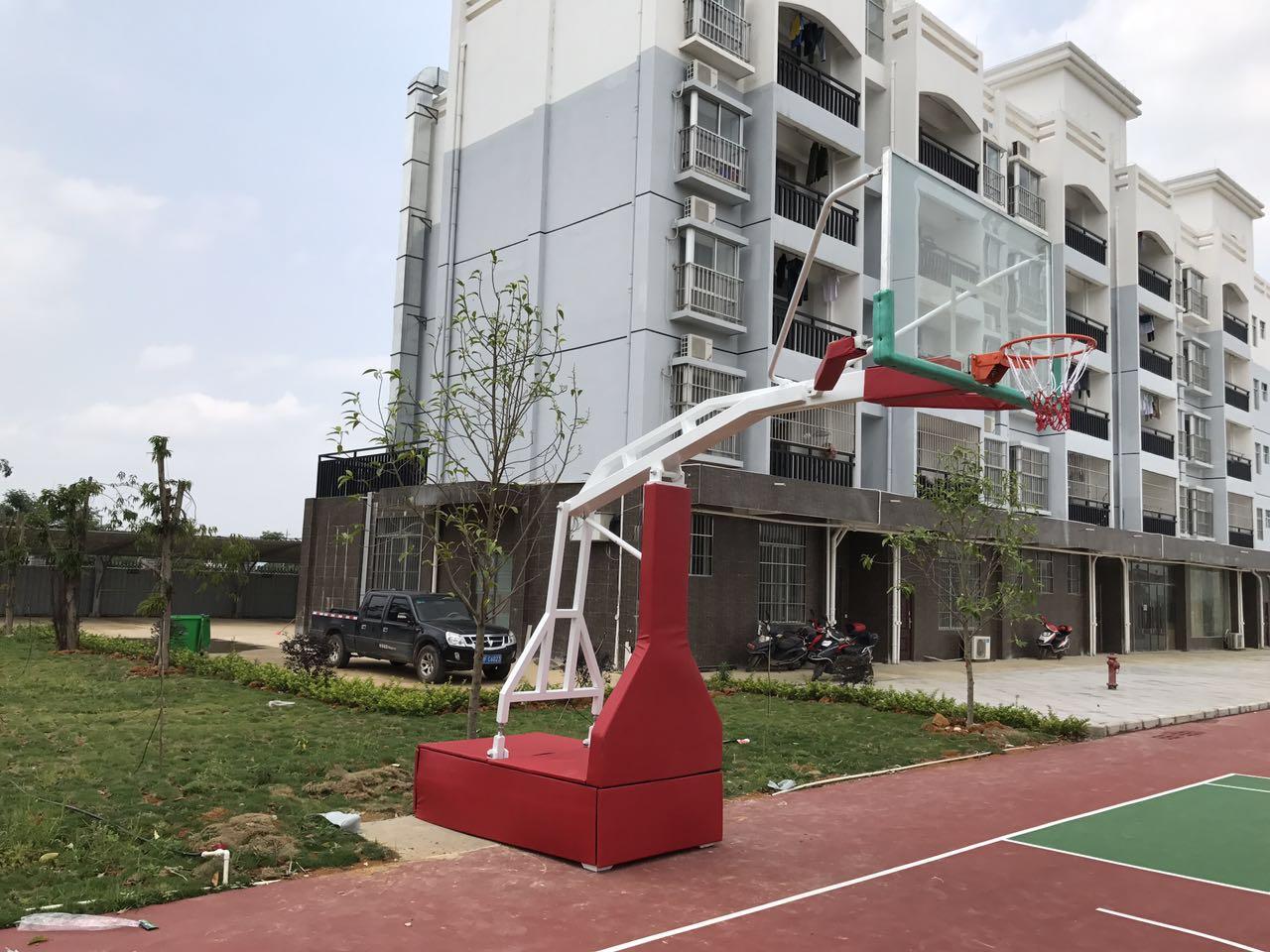 国体篮球架_靠谱的篮球架安装厂家