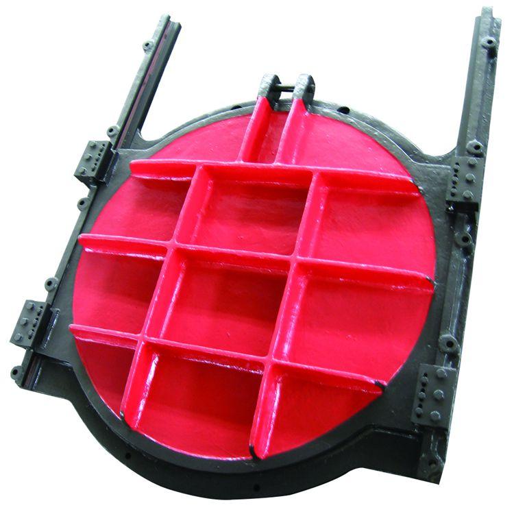 反向止水铸铁闸门-手电两用铸铁方闸门生产厂家