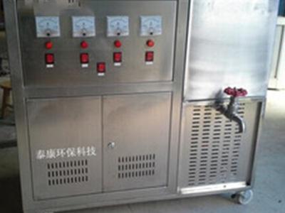 智能型抵压电解法臭氧发生器