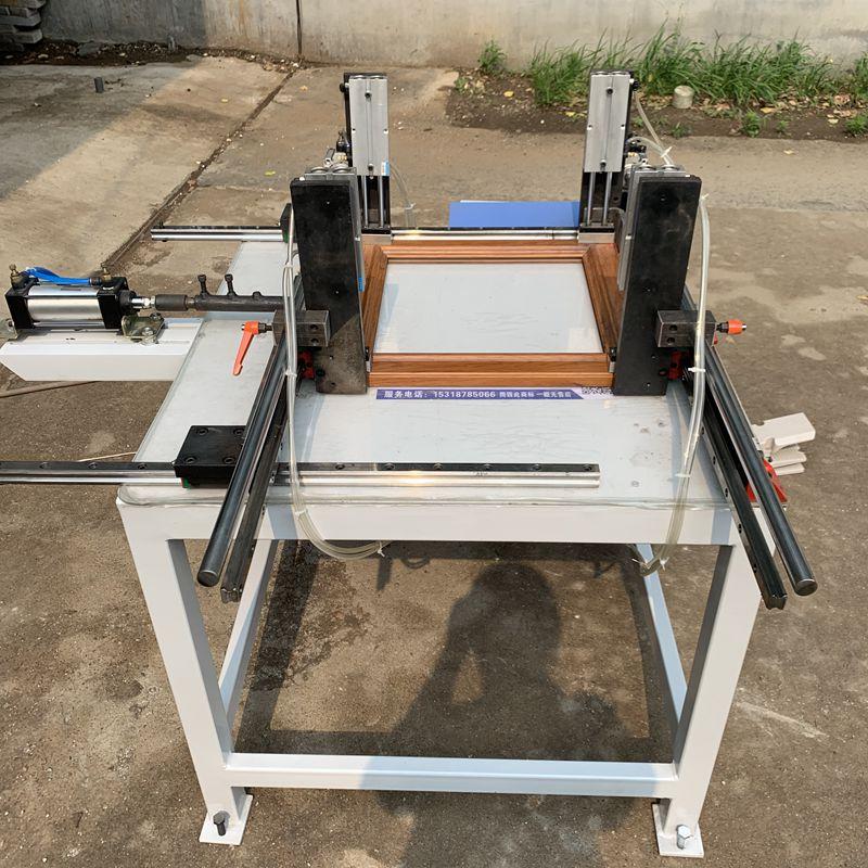 設計新穎的碳纖維板廚衛門組框機-山東優惠的碳纖維櫥柜門拼框機哪里有供應