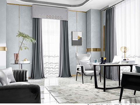 豪華窗簾-大量供應出售窗簾