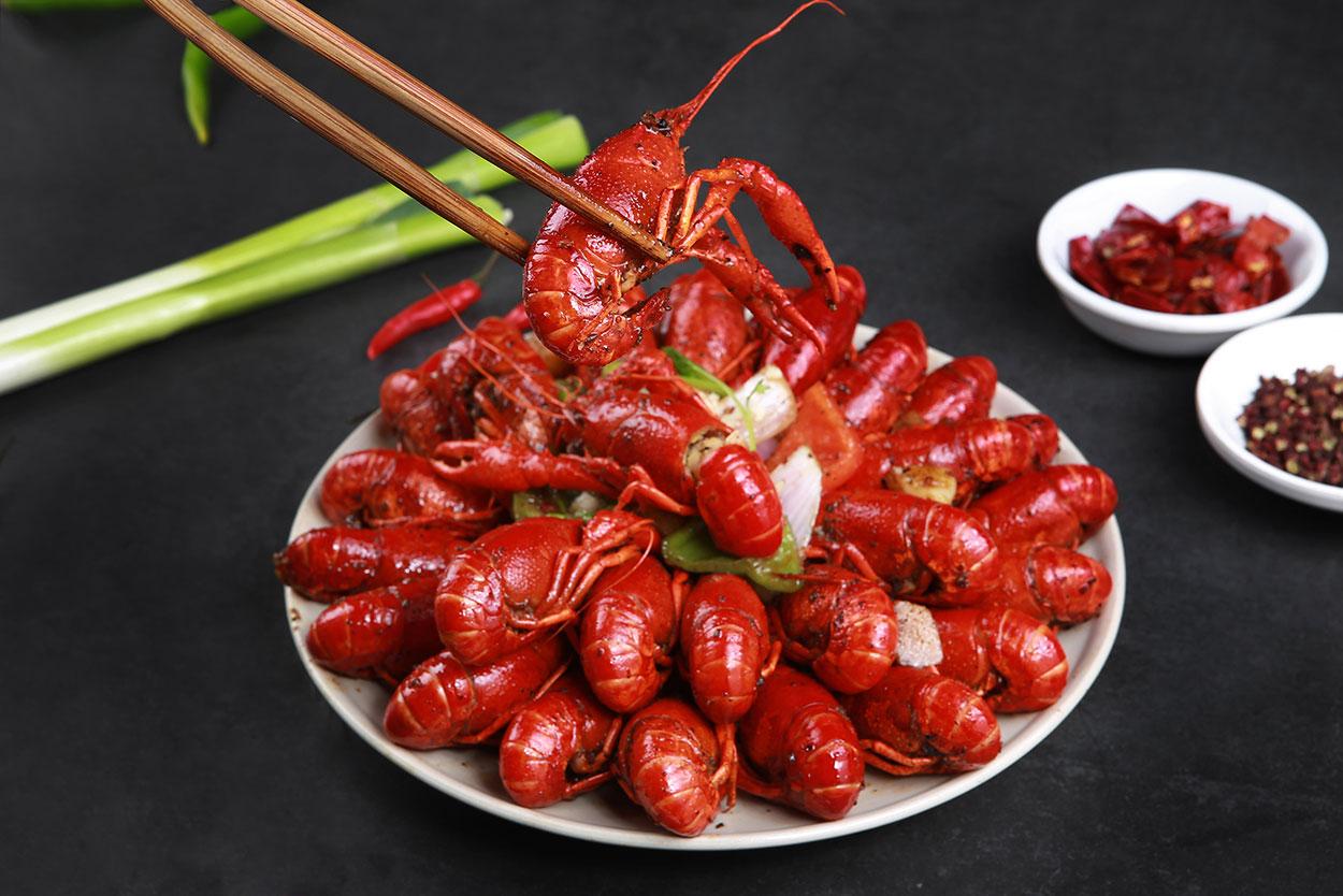 五香小龍蝦食品調料代加工-供應安全放心的丁點兒五香小龍蝦調味料