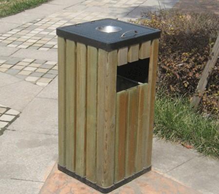 黑河防腐木垃圾桶供应-价格适中的防腐木垃圾桶推荐