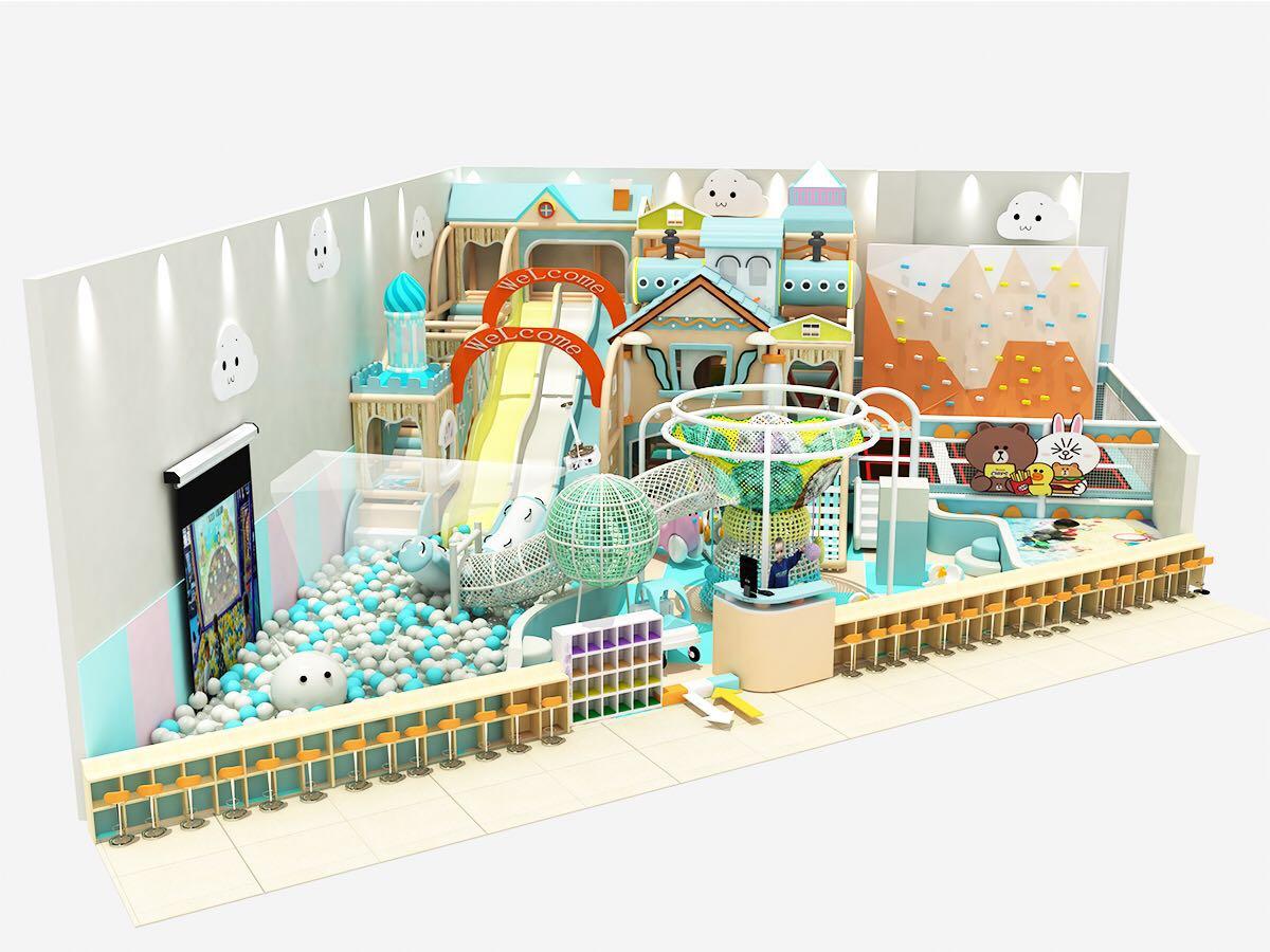 室外兒童樂園供應-溫州淘氣堡價格