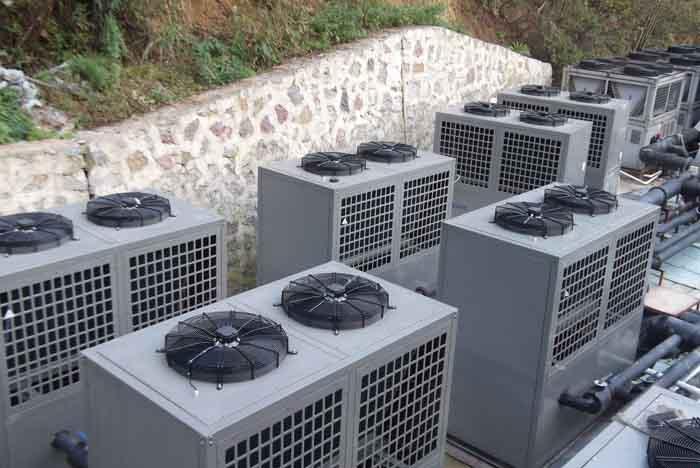 白银空气源热泵热水器-甘肃一通环境科技提供专业的白银空气源热泵