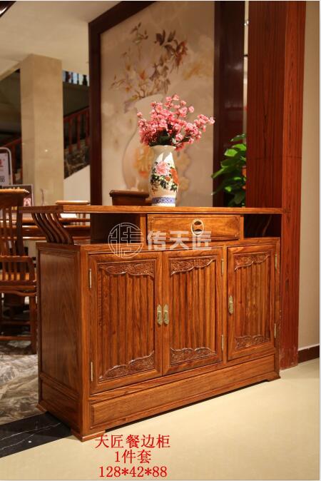 北京紅木餐邊柜哪里買-東莞知名的傳天匠天匠紅木家具生產廠家