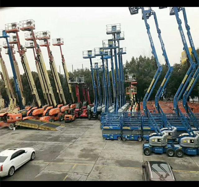 慈溪升降機租賃費用-跨越設備租賃質量良好的24米升降機
