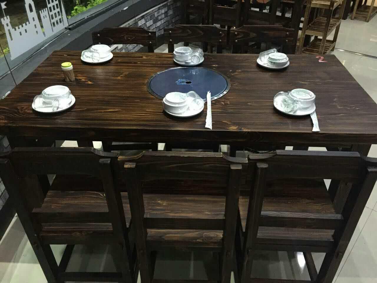 廣西食堂餐桌椅,在哪能買到新款大排檔桌椅
