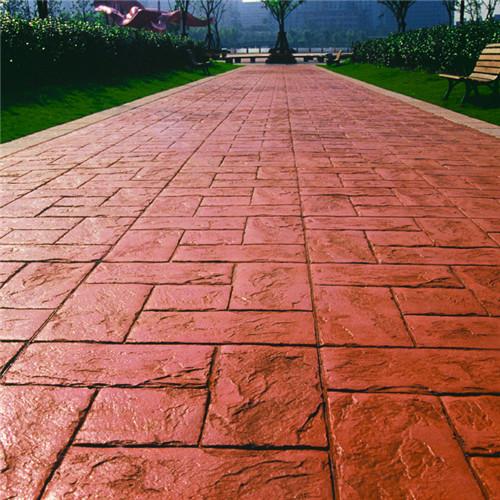 彩色沥青|西安鲁冠建材西安彩色路面您的品质之选