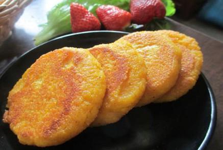 黄金玉米饼哪能学 专业黄金玉米饼培训找好口味餐饮技术服务中心