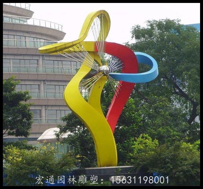 彩虹舞雕塑公?#23433;?#38152;钢雕塑厂家