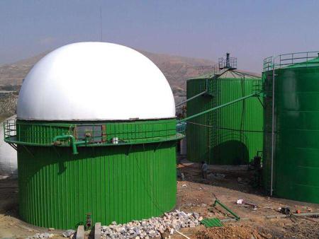 青海省膜結構沼氣池公司_山東彭碩金屬制品專業提供膜結構沼氣池制造