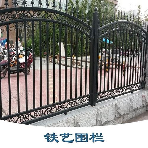 铁诚铁件优良的铁艺围栏新品上市,铁艺围栏定制