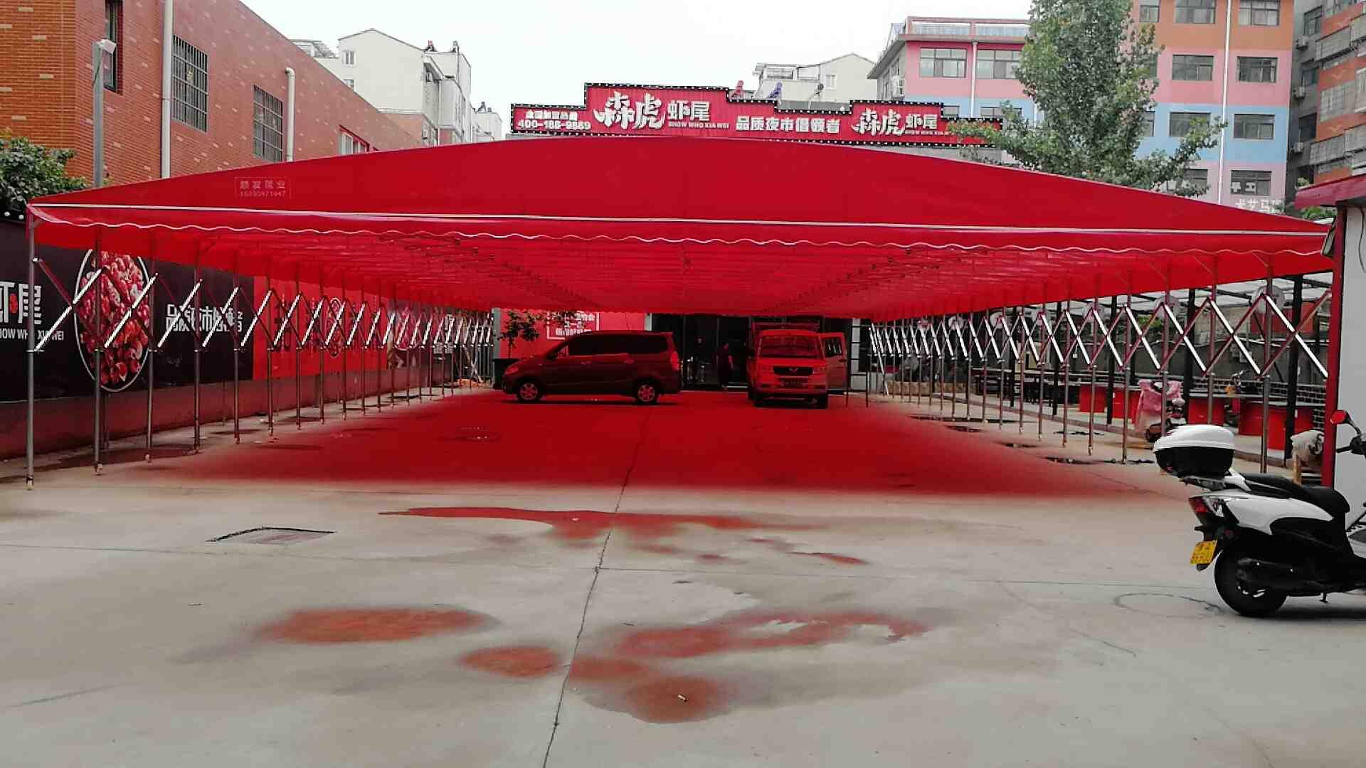 優惠的鄭州推拉蓬-可信賴的防雨蓬批發商