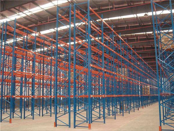 橫梁式倉儲貨架哪里可以批發 城陽橫梁式貨架供貨商