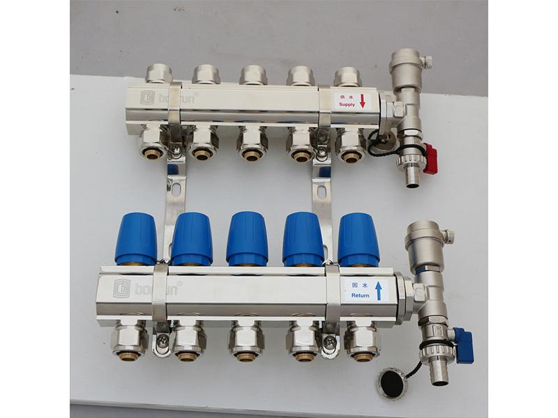 采暖系统气堵脏堵解决方案的「微泡排气排污阀」,地暖和暖气片双未端