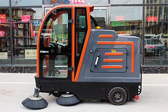 郑州驾驶式全封闭大型电动工业扫地车哪里买-全封闭扫地车批发