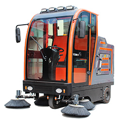耐用的驾驶式全封闭大型电动工业扫地车供应-驾驶式扫地车价格
