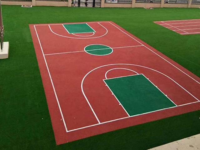 邢台硅PU篮球场材料-供应邯郸好用的硅PU篮球场