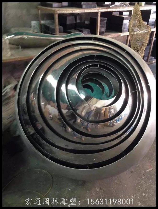 抽象圓環雕塑公園不銹鋼雕塑廠家