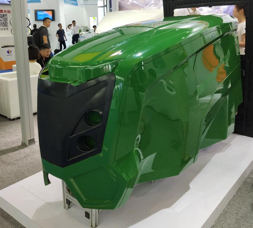 青岛玻璃钢工程车辆配件定制厂家_玻璃钢混凝土车外壳
