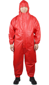 代理代爾塔401020 COMBI71液密中型防化服