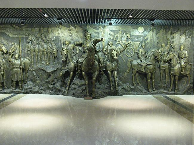 北京景观雕塑公司-选北京博物馆雕塑找鸿达卓艺造型艺术有限公司