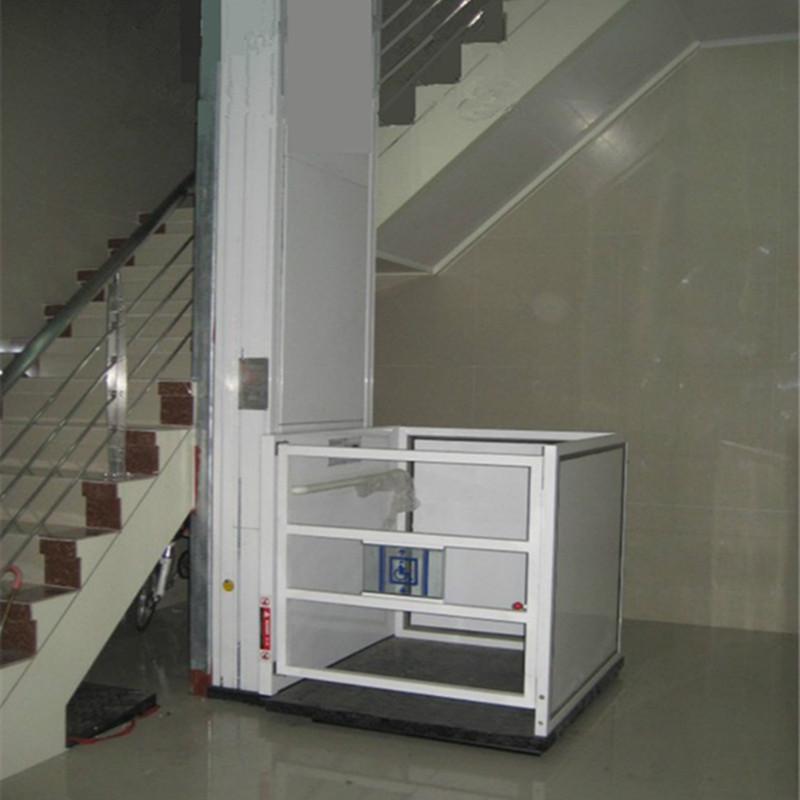 内蒙古呼和浩特家用二层小型别墅电梯,复式阁楼电梯