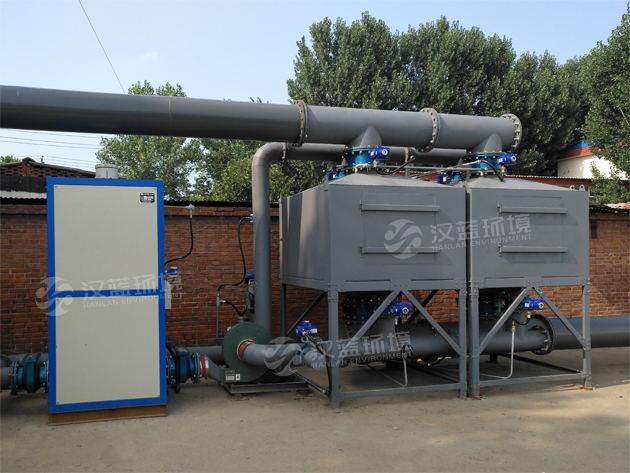 石家莊5萬風量包裝印刷廢氣活性炭吸附脫附設備RCO催化焚燒爐