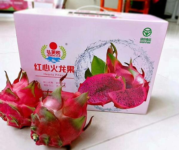 內蒙古火龍果包裝購買-優良呼市火龍果包裝盒生產廠家
