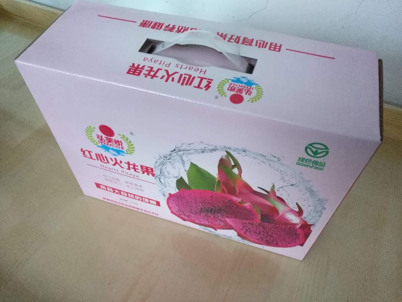 呼和浩特水果包装盒厂家-买呼市火龙果包装盒就来轩达泰种植