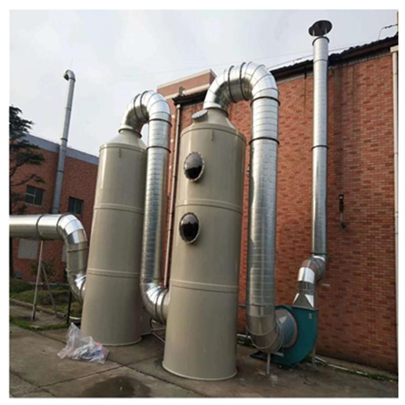 酸雾废气处理设备填料喷淋塔  河北厂家定制生产