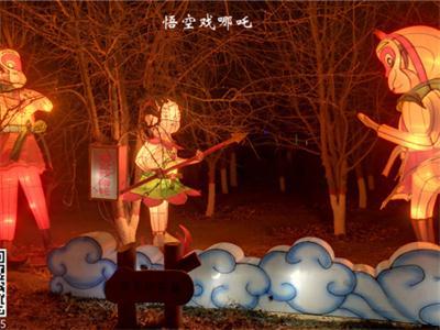 中秋节国庆节双节灯会-灯会花灯如何保持较长使用寿命