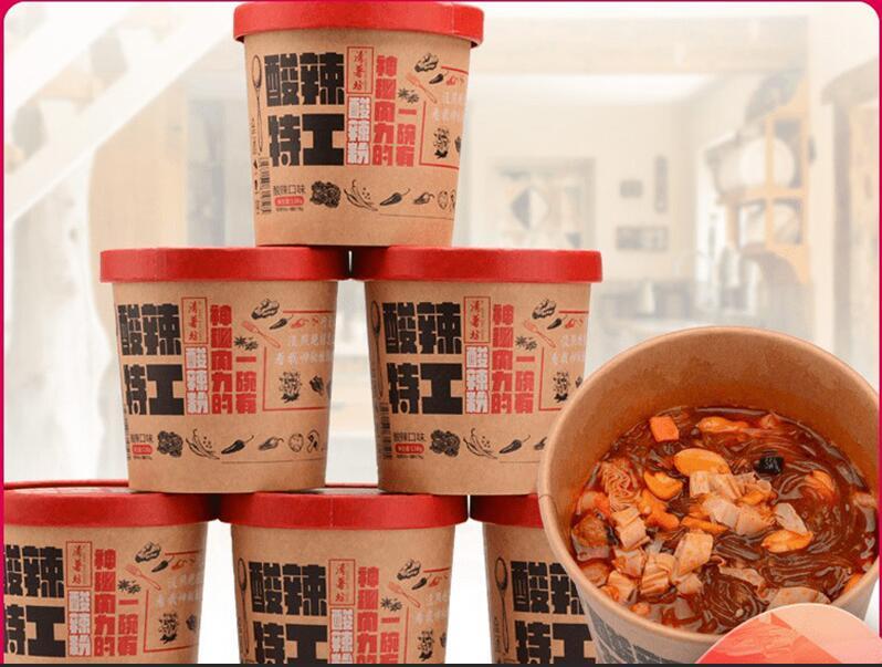 正品海嗨吃家酸辣粉丝红薯桶装重庆速食方便面包邮米网红螺蛳粉