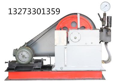 电动试压泵的组成结构