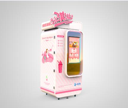 自动冰激凌贩卖机投放在哪里挣钱?免费共享