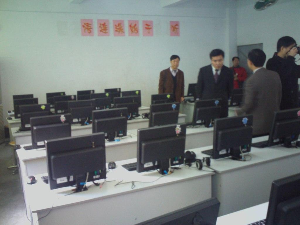 学校云机房采用桌面虚拟化L350终端信息化教学方案