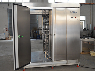 隧道式速凍柜,快速解凍柜,電場熟成展示柜