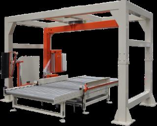 砖块自动打包系统【启盛】制砖机全自动打包机-不用人工自动打包