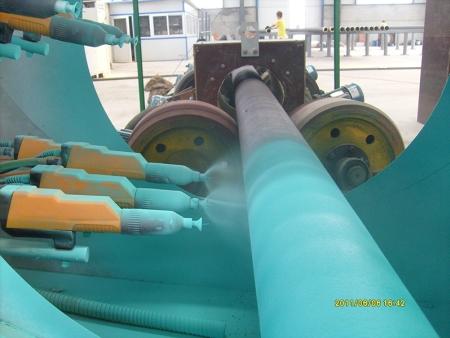 好用的鋼管環氧粉末噴涂設備-可靠的鋼管內壁噴涂設備生產廠家