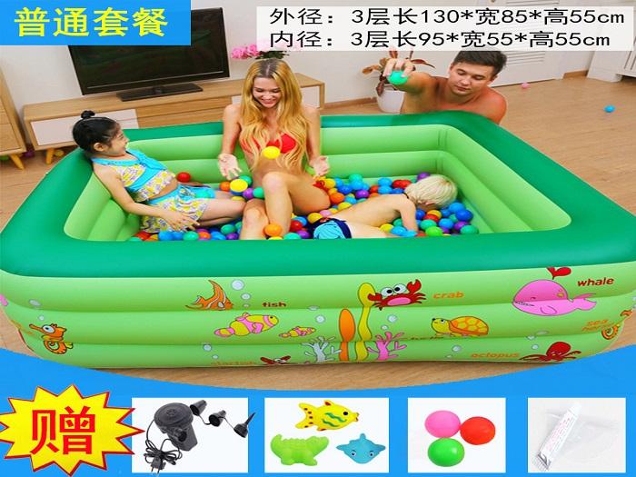 中国儿童游泳池-郑州好用的充气式儿童游泳池哪里买