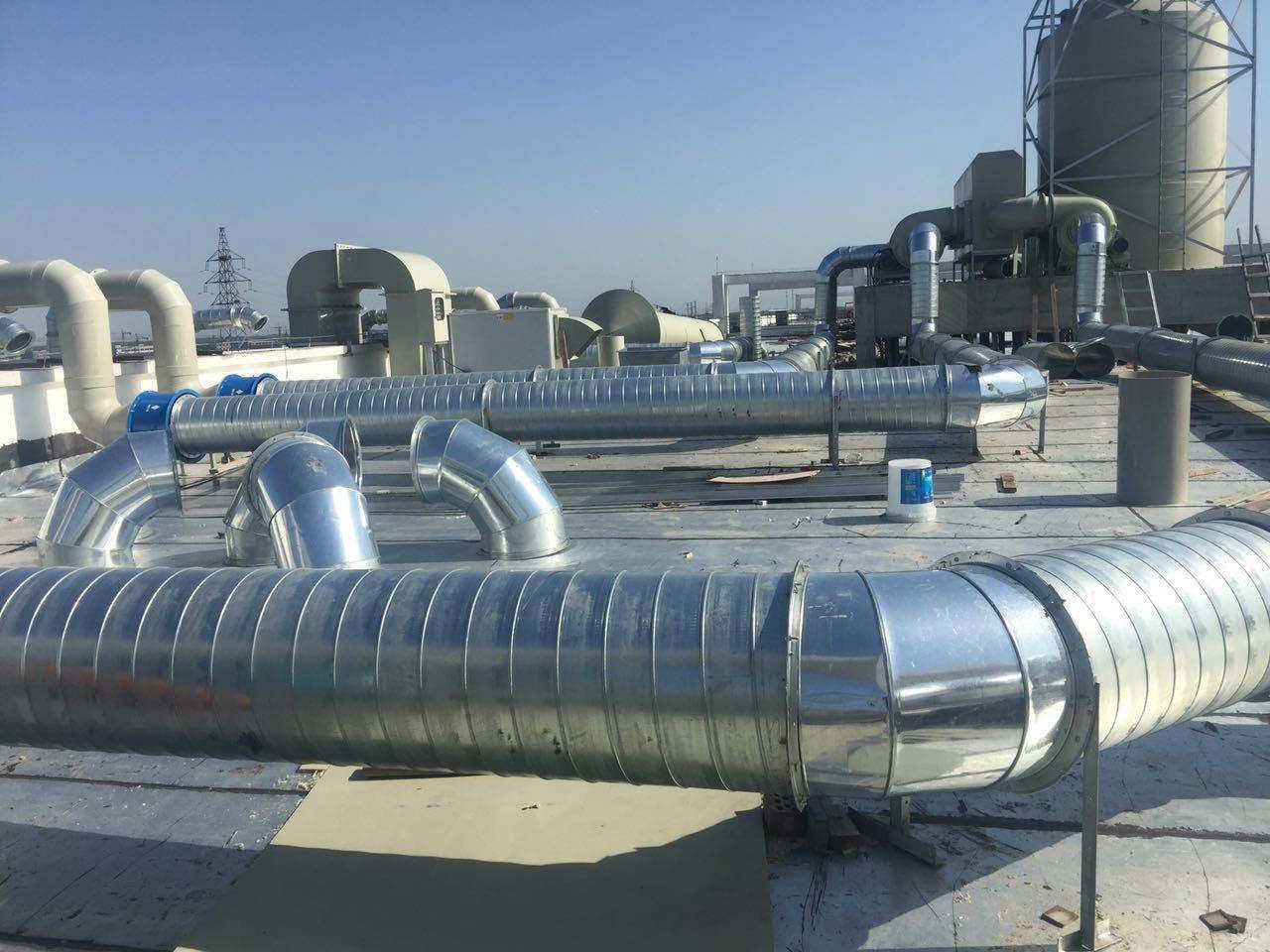 宁波螺旋风管-消防风管-风管厂家