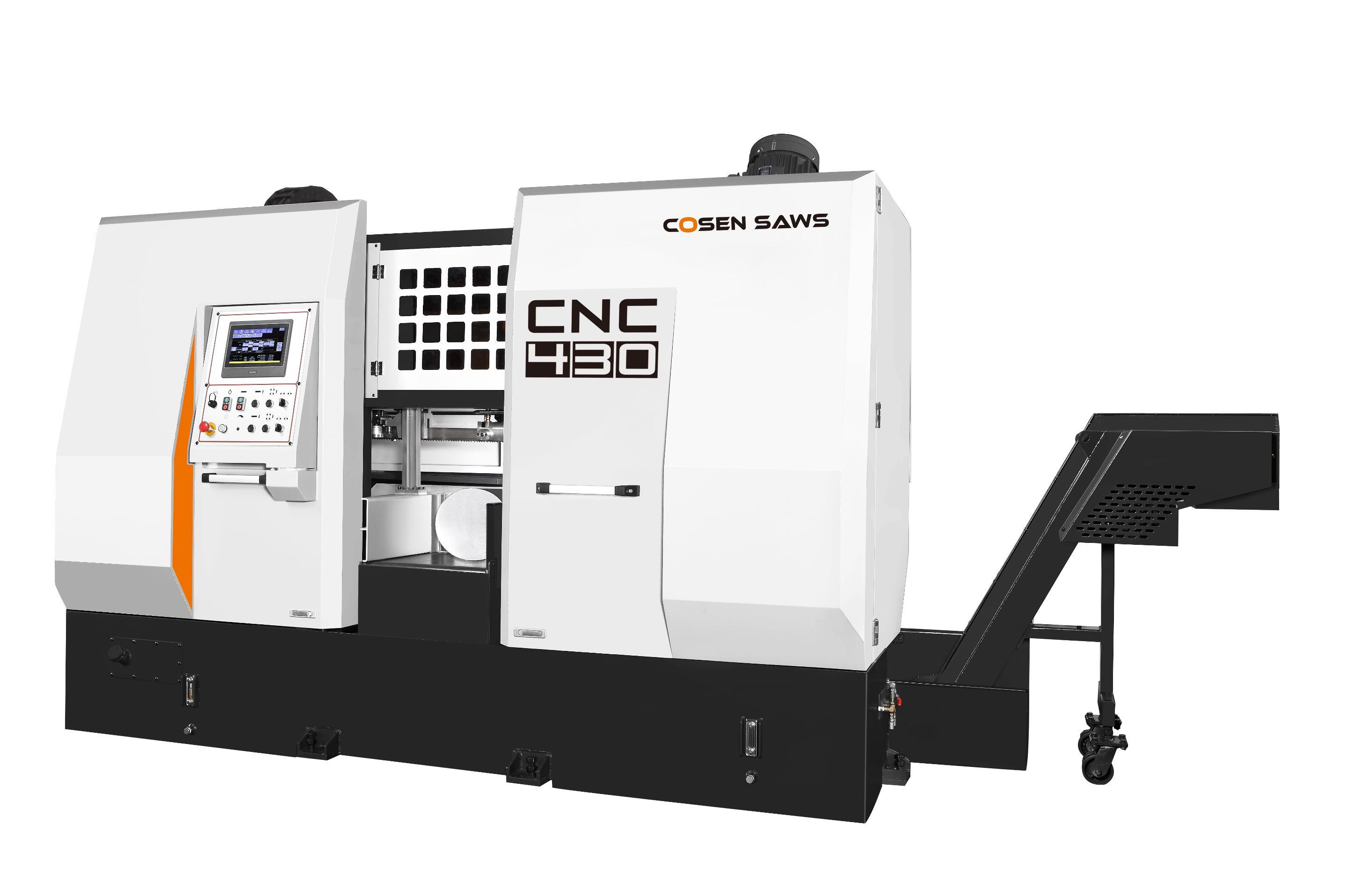高效钨钢智控带锯床CNC-430