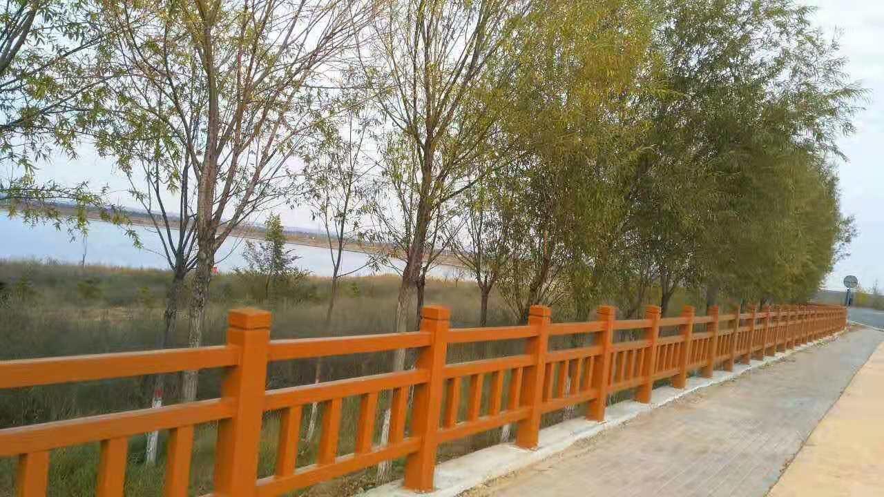 宁夏仿木围树|想买销量好的仿木护栏,就到恒雅园林景观