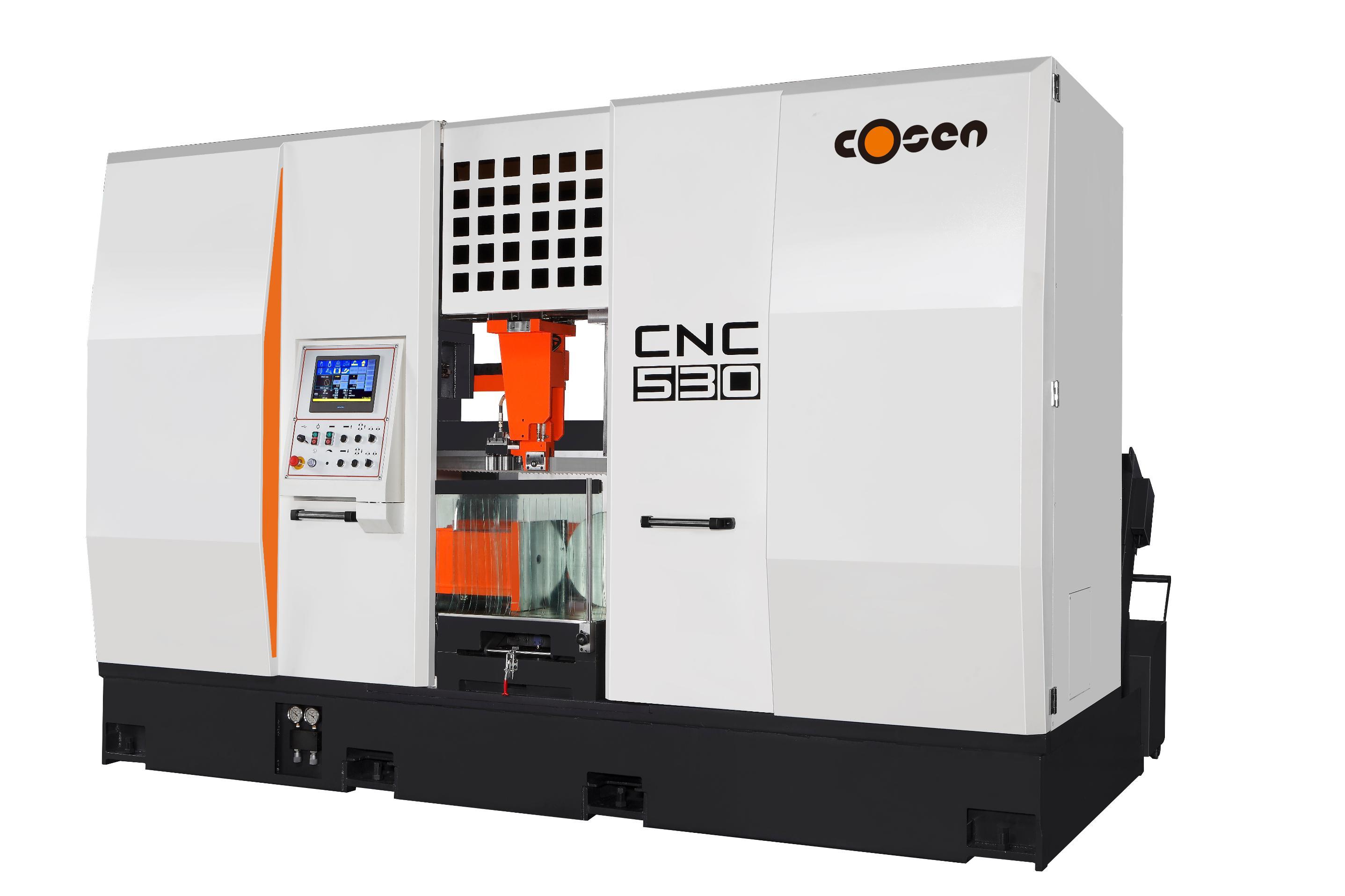 高效钨钢智控带锯床CNC-530