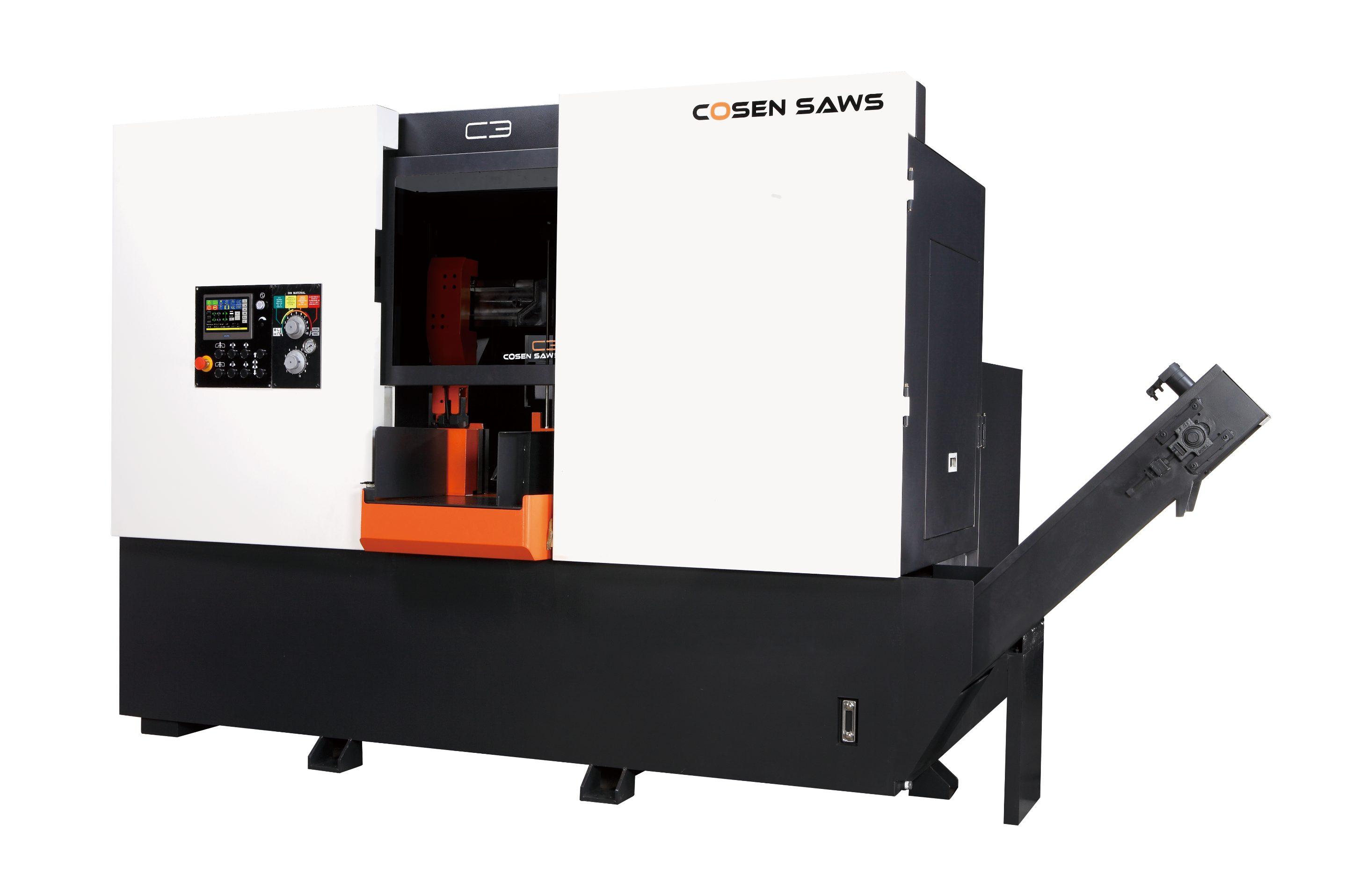 可编程全自动水平生产带锯床-C3
