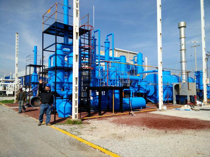 重庆环保式废旧塑料炼油设备-新乡高性价环保式废旧塑料炼油设备-厂家直销