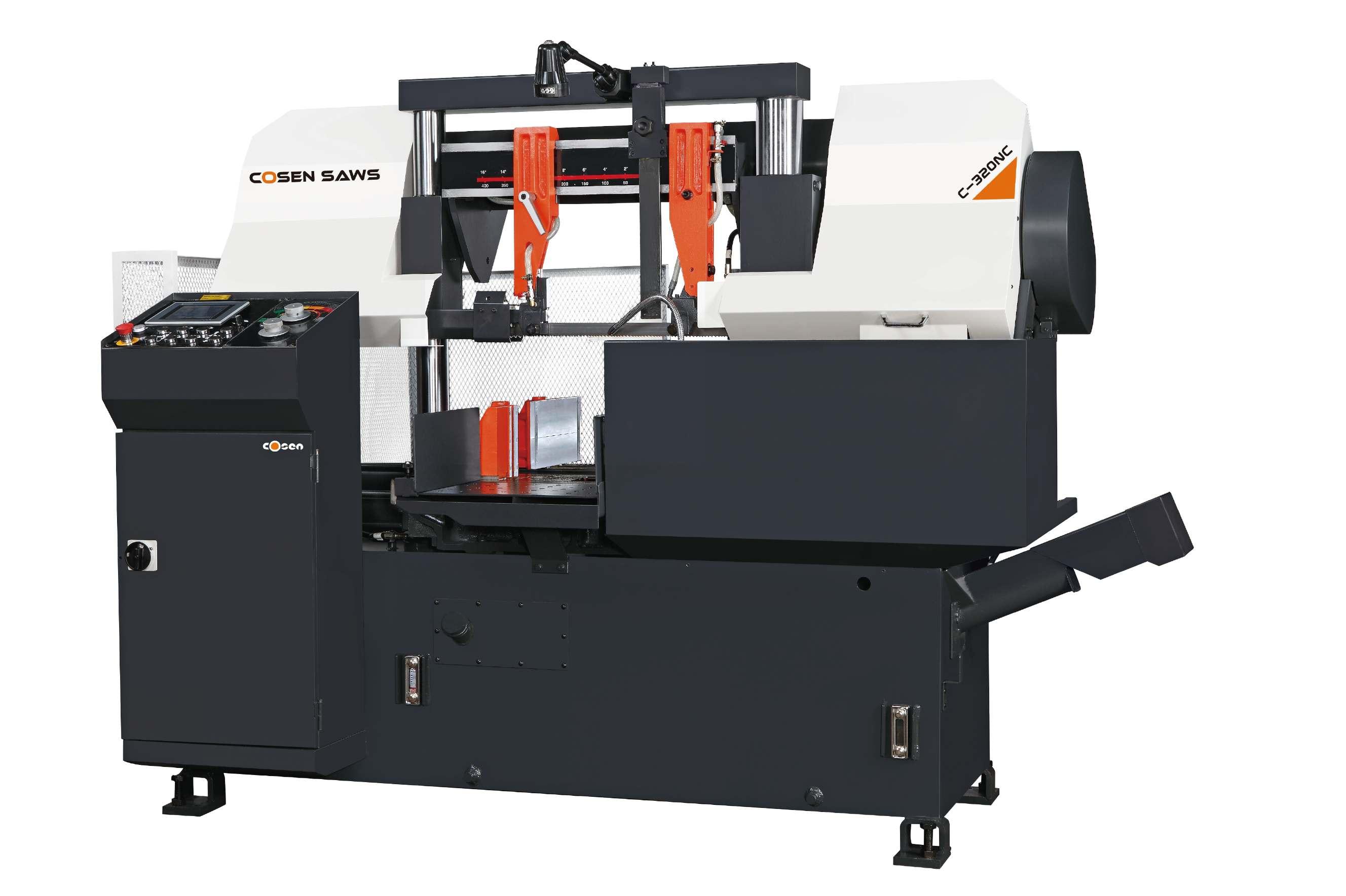 实用的双柱智慧型全自动带锯床品牌-优良双柱智慧型全自动带锯床C-320NC厂家推荐